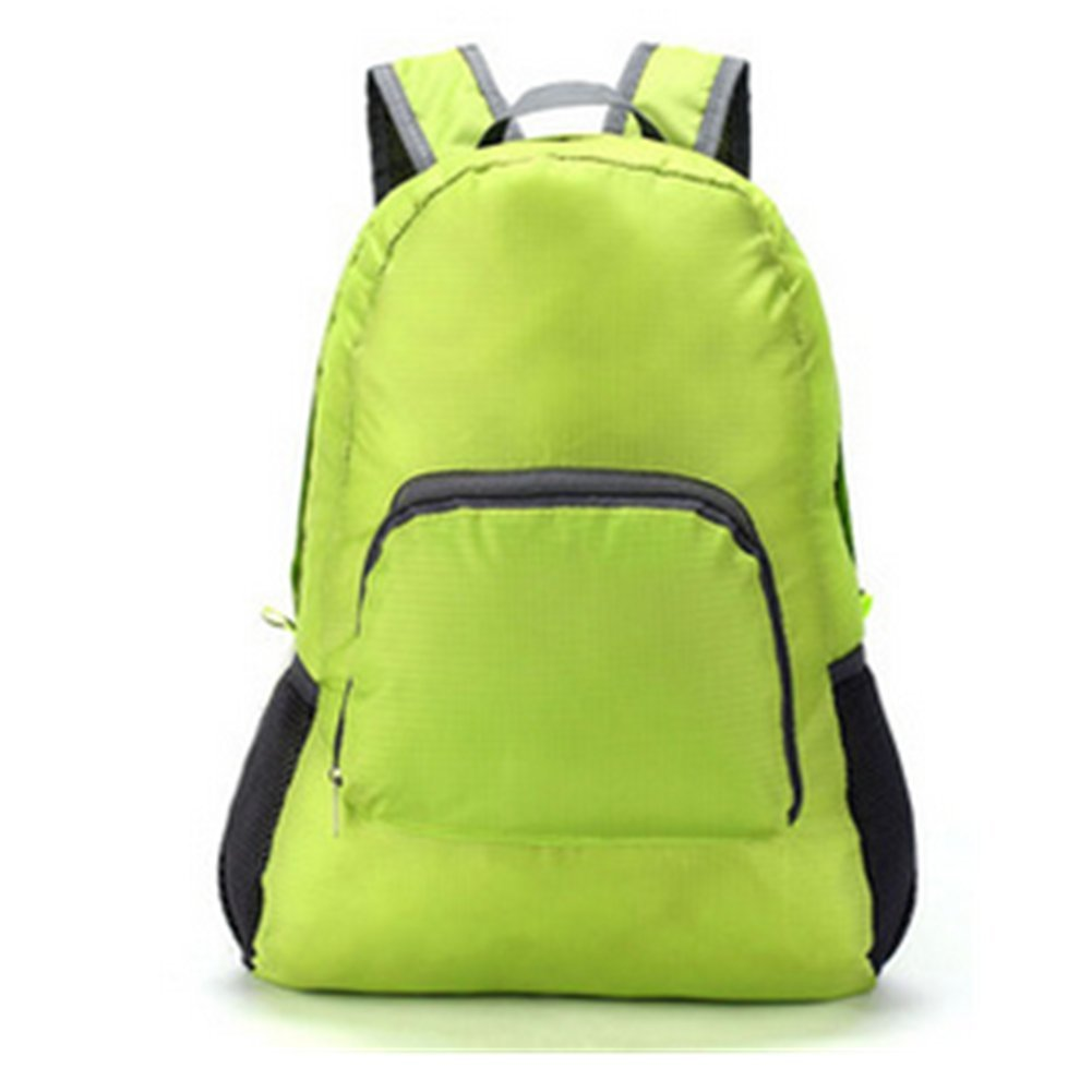 Aksautoparts Unisex Outdoor Waterproof Backpack Nylon Folding Package Travel Shoulder Bag