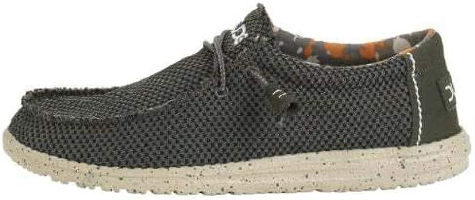 Dude shoes Mens Wally Sox Musk Green