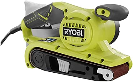 Certified Refurbished Ryobi belt sander 3x