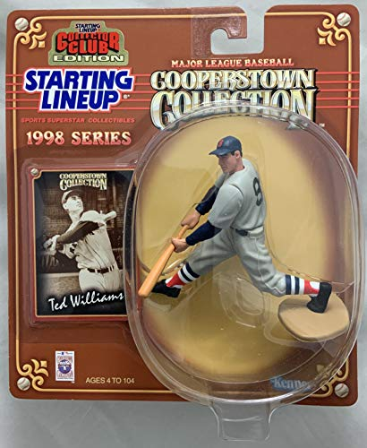 (1998 KENNER STARTING LINEUP MLB COOPERSTOWN COLLECTION COLLECTOR CLUB EXCLUSIVE TED WILLIAMS BOSTON RED SOX)
