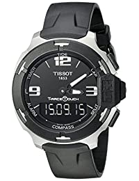 Tissot Men's T0814201705701 T-Race-Digital Swiss Stainless Steel Watch