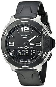 Tissot Men's T0814201705701 T-Race-Digital Swiss Stainless Steel Watch