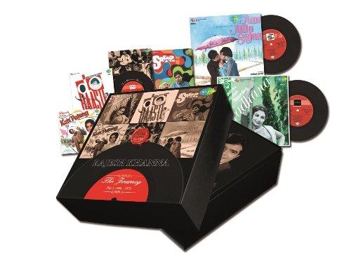 Price comparison product image Rajesh Khanna - The Journey Part 1: 1966 - 1970 - Relive The Magic Of The LP Era (6-CD Set)
