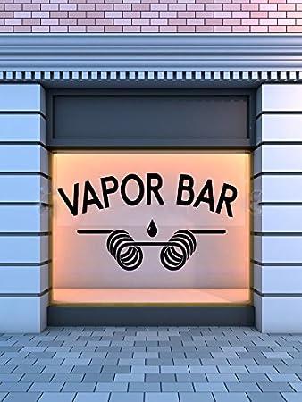 Amazon com: Wall Window Decal Sticker Vape Shop Vaping Vape Store