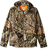 Carhartt Men's Big Big & Tall Buckfield Jacket, Mossy Oak Break up Country, 2X-Large/Tall