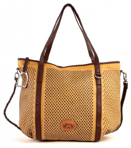 LA MARTINA Mora Large Shopping Bag Yellow