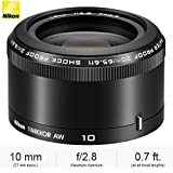 Nikon 1 NIKKOR AW 10mm f/2.8 Lens Black (3361B) - (Certified Refurbished)