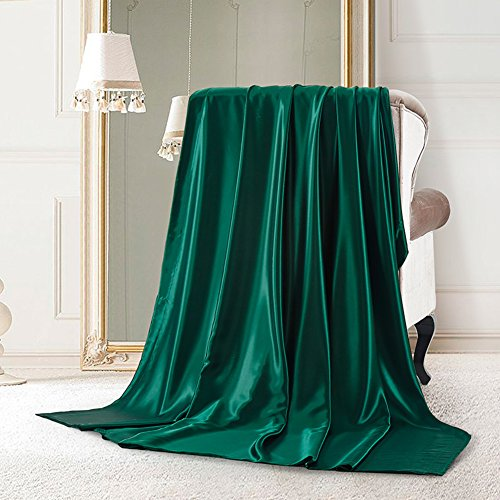 Pure silk quilt cover single piece Thickened double-sided pure silk quilt-N 200x230cm(79x91inch) by HFGRBTNBYSSBGFT