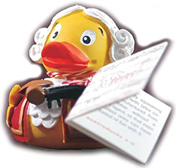 The Beethoven Rubber Duck Bade-Ente Beethoven