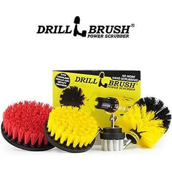 Amazon Com Drillbrush 4 Piece Scrub Brush Drill