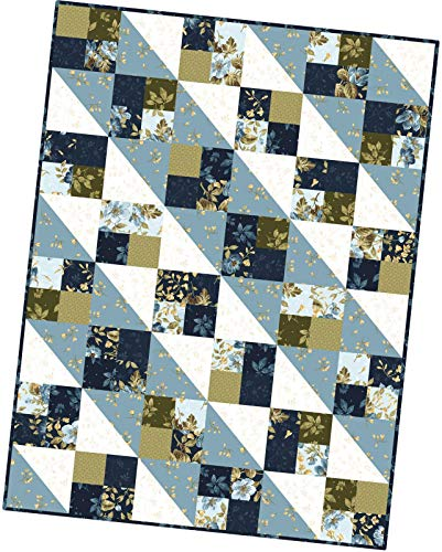 English Countryside Four Square Pod Quilt Kit Maywood Studio