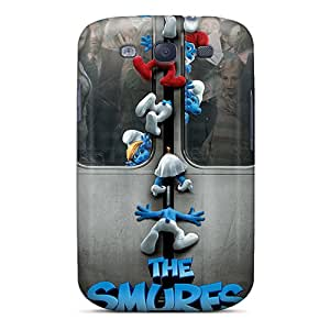 New Shockproof Protection Case Cover For Galaxy S3/ The Smurfs Case Cover