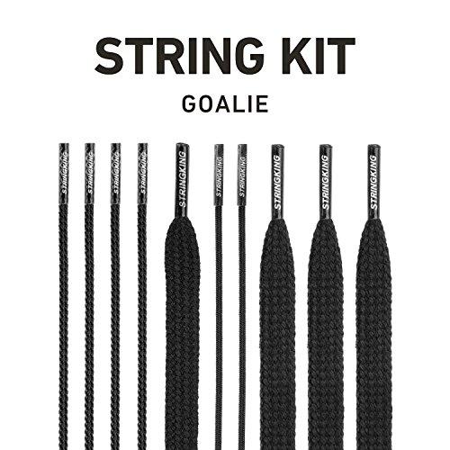 StringKing Lacrosse Goalie String Kit (Black)