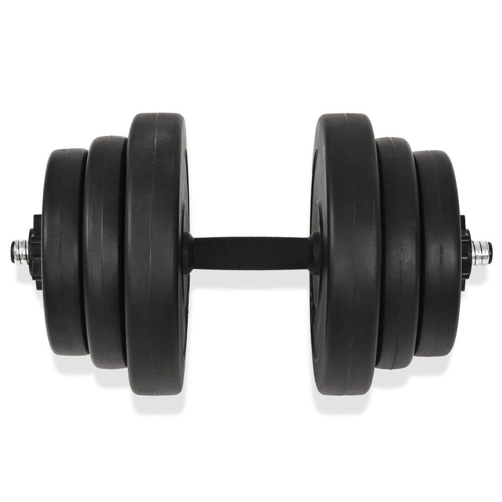 Festnight Set de Mancuerna 18 Piezas 40 kg Entrenar Pecho,Bíceps,Brazos,Tríceps y Músculos de Espalda: Amazon.es: Deportes y aire libre