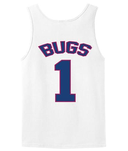 Amazon.com   Bugs Bunny Tune Squad Space Jam Tank Top jersey ... b24df6602379