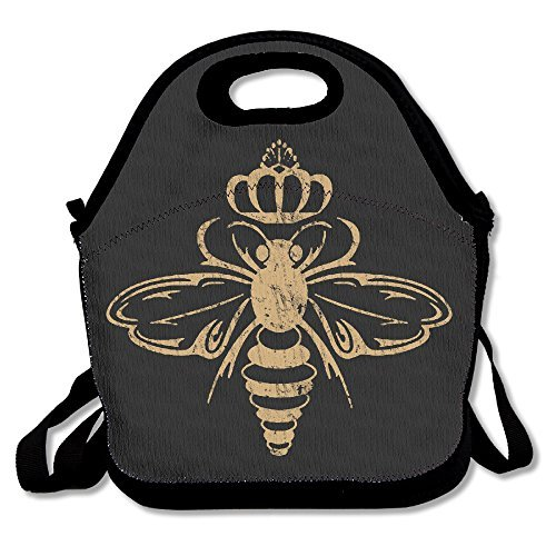 Queen Bee Retro Lunch Bag Lunch Box Lunch Tote Lunch Tote Bag Lunch Holder For Adults Kids Men Women Boys Girls