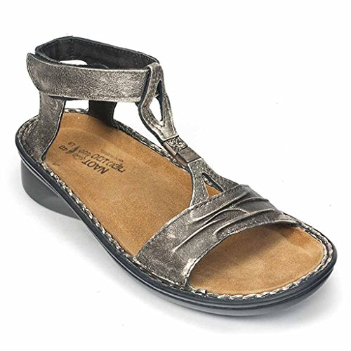 Naot Women's Cymbal Dress Sandal, Metal, 42 EU/11 M US