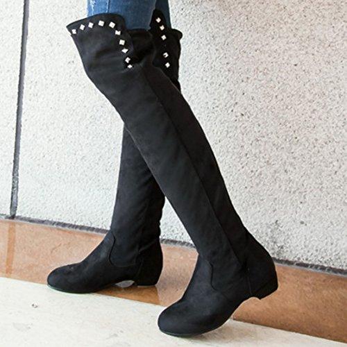 AIYOUMEI Women's Black Boot Classic Women's AIYOUMEI p4gw4
