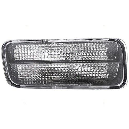 Passengers Park Signal Front Marker Light Lamp Lens Replacement for Chevrolet 5975682 AutoAndArt