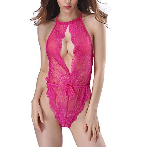 Donna Ragazza Sexy Donna chenang Vestaglia Sleepwear Donna Babydoll Intimo Lingerie Lingerie Babydoll Raso Sexy Sexy wvPwqz