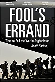 'PORTABLE' Fool's Errand: Time To End The War In Afghanistan. Medicaid Hombre Reserva obliga acuerdo Mateo