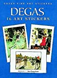 img - for Degas: 16 Art Stickers (Dover Art Stickers) book / textbook / text book