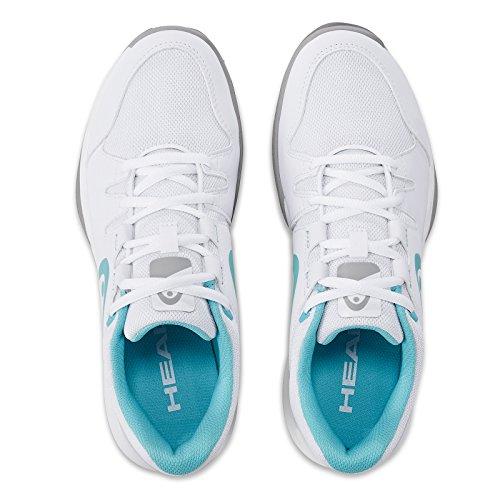 Donne Testa Brazer Womens Scarpe Da Tennis Bianche (bianco / Azzurro)