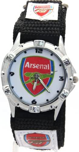 Timermall Arsenal FC Fabric Strap Analogue Sport Watch