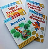 Kumon Grade 5 Math + Verbal workbooks (4 books) - Reading, Decimals & Fractions, Geometry & Measurement and Word Problem