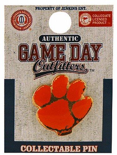 NCAA Clemson Tigers Logo Lapel Pin