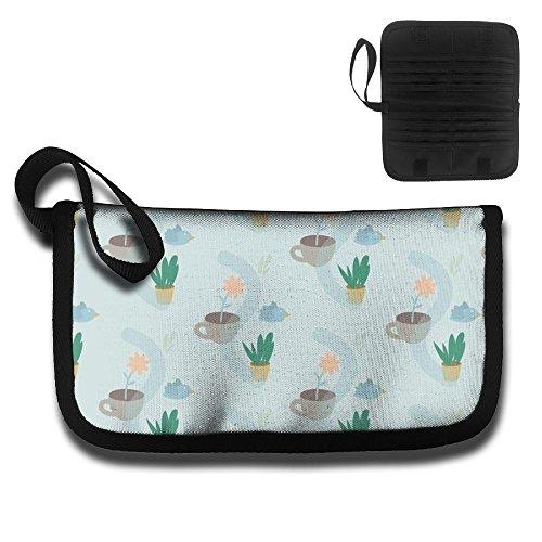Pot Cactus Travel Pouch Blocking Passport Wallet Waterproof File Bag - Filler Pot Height