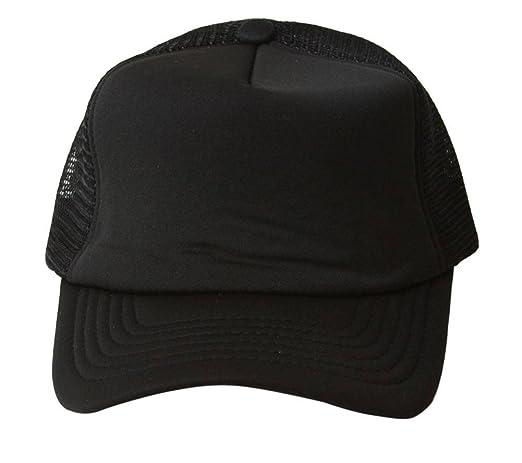 Vintage Trucker Hat Solid - Black at Amazon Men\u0027s Clothing store: Baseball Caps store
