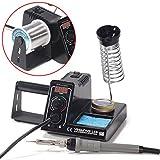 1 Set Adjustable Temperature Digital Soldering Station 220V 60W Welding Iron Tip Welder Kit
