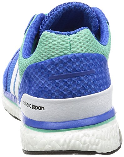 White Blue blue Adizero Men ftwr Running 's Adios Green easy M Shoes Adidas vqw4Axpw