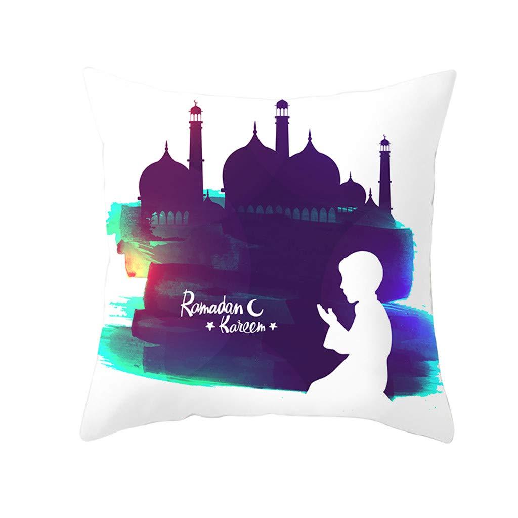 huoaoqiyegu - Funda de cojín con diseño de ramadán musulmán ...
