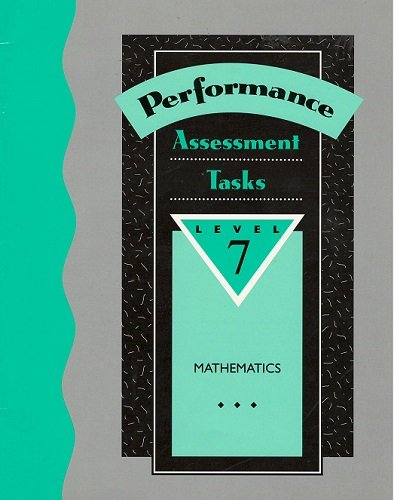 Performance Assessment Tasks in Mathematics Level 7