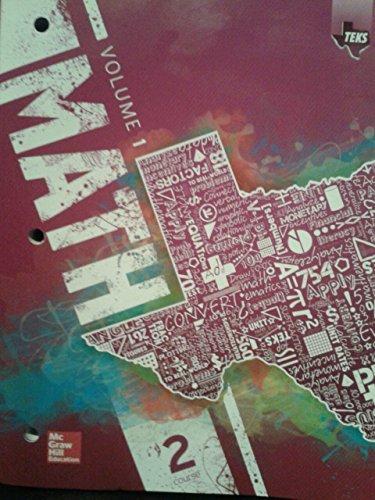 Texas Math TEKS Course 2 Volume 1