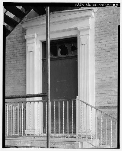 HistoricalFindings Photo: Southern Ute Boarding School,Boy's Dormitory,Ignacio,La Plata County,CO,HABS,25