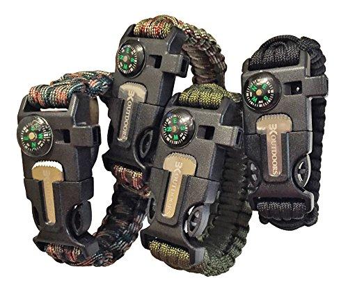 550 cord bracelet fire starter - 6
