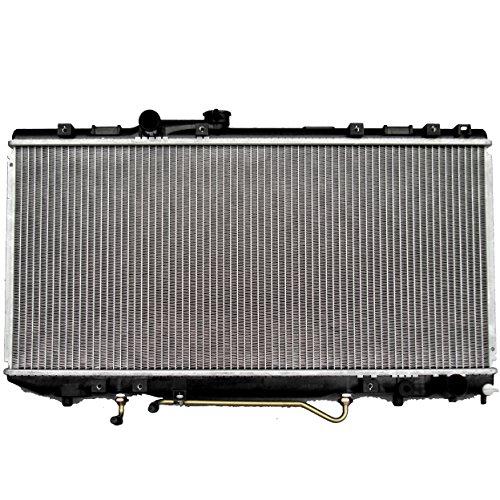 (ECCPP New Akluminum Radiator 1174 Replacement fit for 1990-1993 Toyota Celica GTS L4 2.2L 2.0L)
