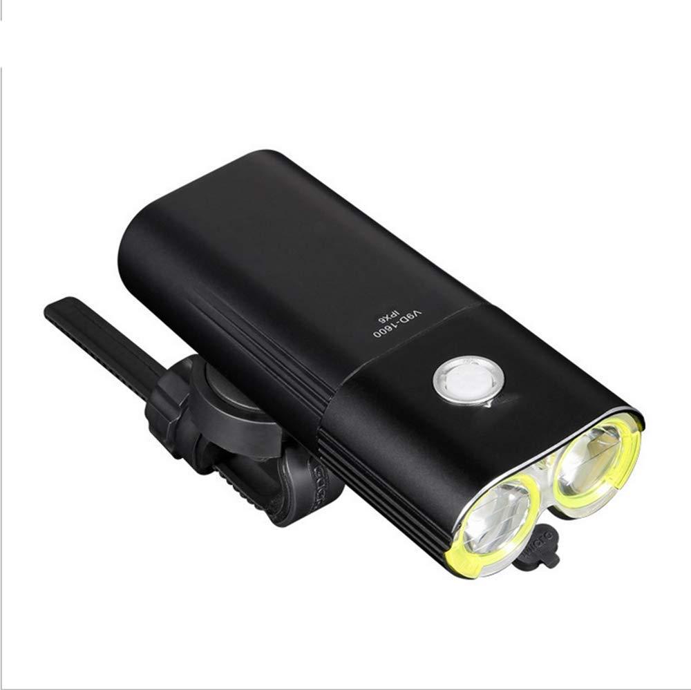 XLING 1600 Lumens Mountainbike Light, Strong Light Bike Scheinwerfer, USB Bike Taschenlampe, Nacht reitgerät