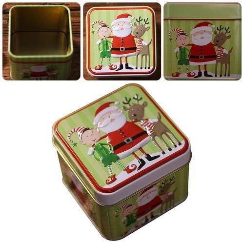 Enjoyyouselves - Caja pequeña de Hierro para Navidad, Ideal para ...
