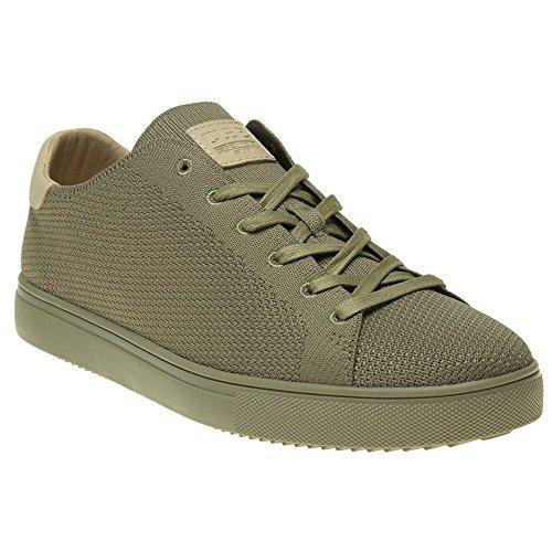 Clae Bradley Knit Herren Sneaker Khaki