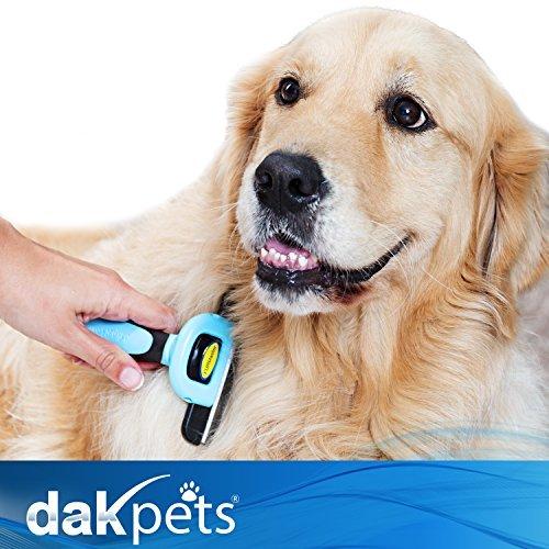 Dakpets Deshedding Brush Dog Hair Amp Cat Hair Shedding Tool