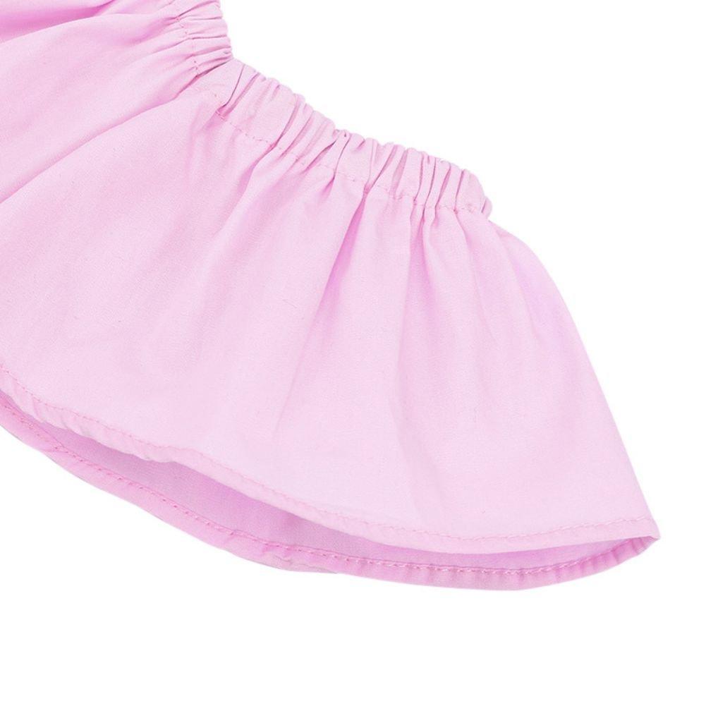 Baby M/ädchen Off-Schulter Pullover Top und Jeans Stirnband Outfit f/ür 6 Monate 7 Jahre Alt