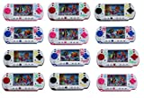 12 Pack Set of Water Ring Game Machine Arcade Video Children's Kid's Toy Handheld Water Game (Colors May Vary) Fun party favor, goodie bag or stocking stufferg,