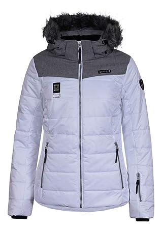 Icepeak Pridie Kunstpelzkragen Skijacke Damen weiß *UVP 149