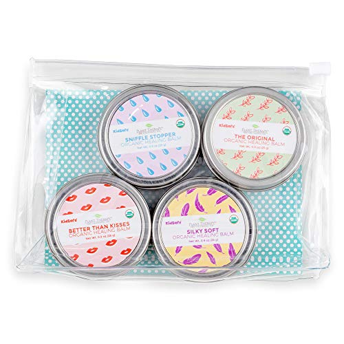 Therapy Kiss (Plant Therapy Balm Squad Set 100% Pure, Organic & Natural Healing Balms)