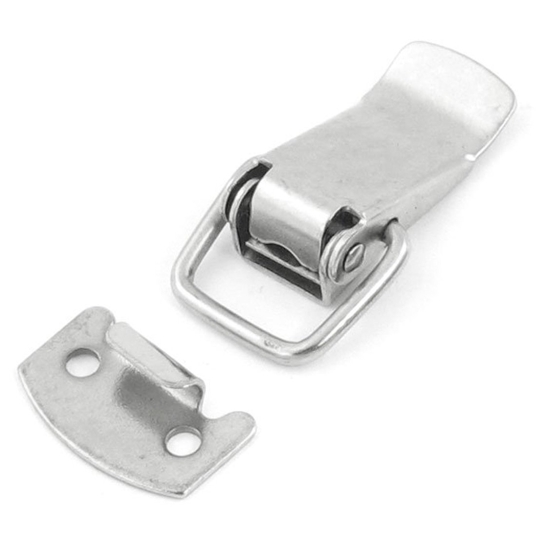 SODIAL(R) 2 Set Box Chest Case Spring Loaded Draw Toggle Latch 30mm Length
