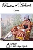 Oeuvres du Baron d'Holbach